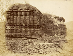 Temple of Mahadeva from south-west, Patan (Patna), Khandesh District
